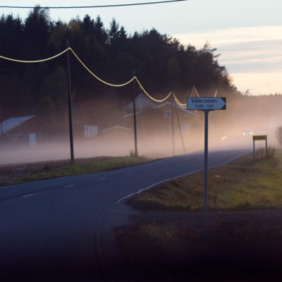 Morning Mist in the Østfold Land