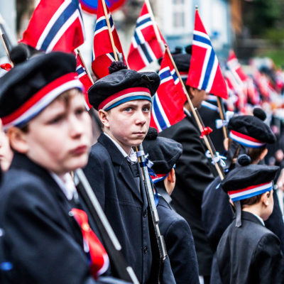 Norwegian Children Represent the Nation during the Celebratory Parades