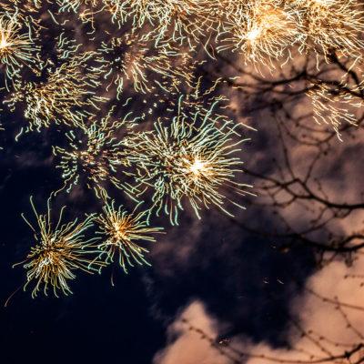 Fireworks upon the Festplassen