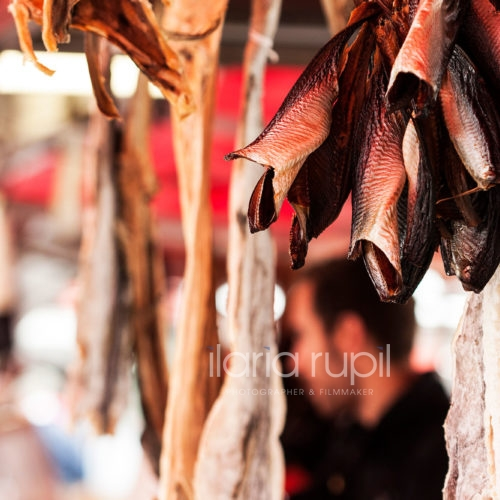 Stockfish and Smoked, Salted and Dried Herrings