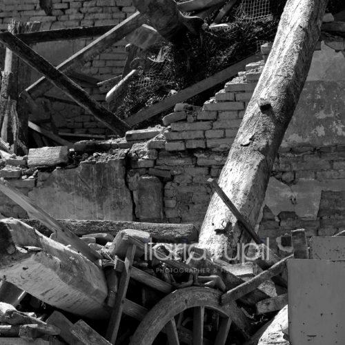 Ruins in Rovereto sulla Secchia