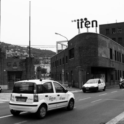 Headquarters of the Company Iren Acqua Gas S.p.A. in Via Piacenza, Genoa