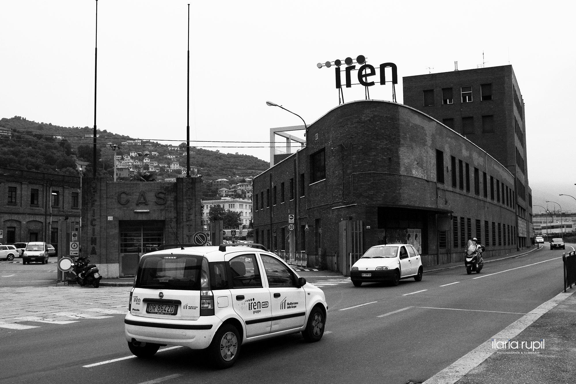 Headquarters of the Company Iren Acqua Gas S.p.A. in Via Piacenza, Genoa