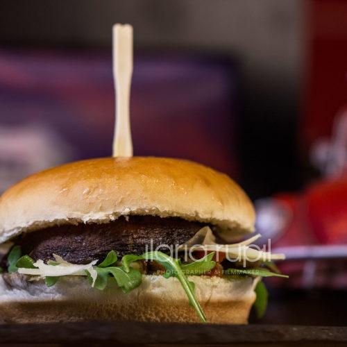 Portobello Vegetarian Burger