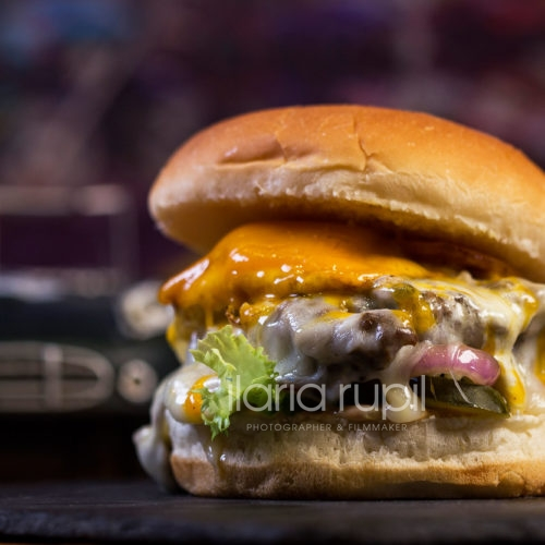 Beef Bacon and Egg Burger
