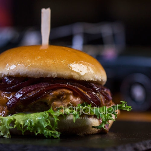Beef Barbecue Burger