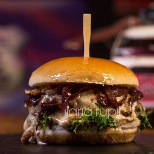 Mushroom Beef Truffle Burger