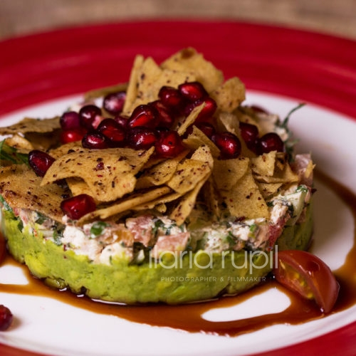 Shanklish with Avocado